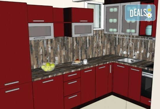 Специализиран 3D проект за дизайн на мебели + бонус: 15% отстъпка за изработка на мебелите от производител, от магазин за бутикови мебели Christo Design LTD - Снимка 19