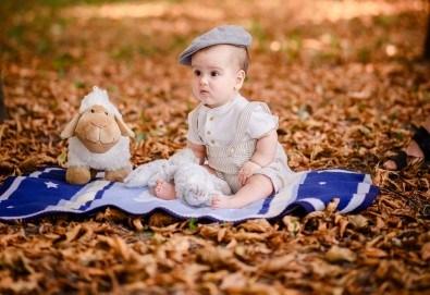 Есенна семейна, детска или индивидуална фотосесия на открито с 25 обработени кадъра от Фото студио Амели! - Снимка