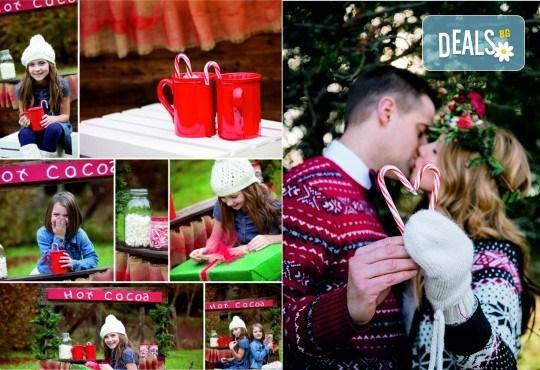 Коледна фотосесия на открито за деца, семейна или за влюбени от фотограф София Асеникова! - Снимка 1