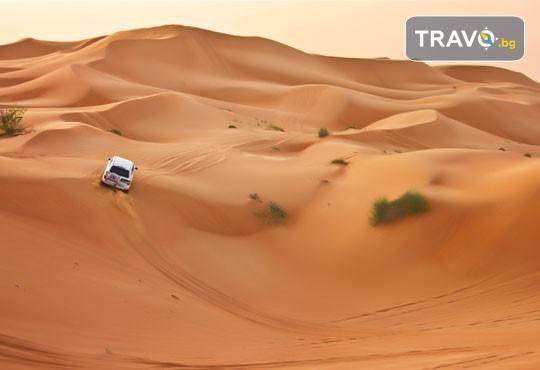 Екзотика през 2020г. в Дубай! 4 нощувки със закуски и вечери, самолетен билет, трансфери, посещение на Абу Даби и сафари в пустинята - Снимка 11