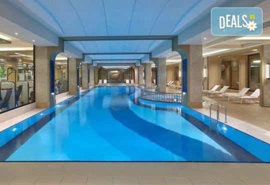 Лукс за Нова година в Истанбул! 3 нощувки със закуски и вечери в Elite World Europe Luxury Hotel 5*, Новогодишна вечеря, ползване на басейн, сауна и турска баня - Снимка 8