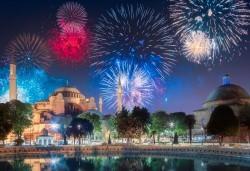 Лукс за Нова година в Истанбул! 3 нощувки със закуски и вечери в Elite World Europe Luxury Hotel 5*, Новогодишна вечеря, ползване на басейн, сауна и турска баня - Снимка