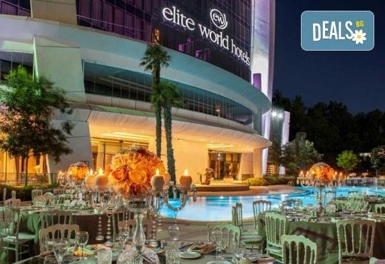 Лукс за Нова година в Истанбул! 3 нощувки със закуски и вечери в Elite World Europe Luxury Hotel 5*, Новогодишна вечеря, ползване на басейн, сауна и турска баня - Снимка 2