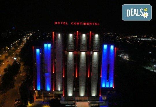 Посрещнете Нова година 2020 в хотел Continental 4*, Скопие, с Мивеки Травел! 2 нощувки със закуски, 1 стандартна и Новогодишна вечеря, транспорт и водач - Снимка 2
