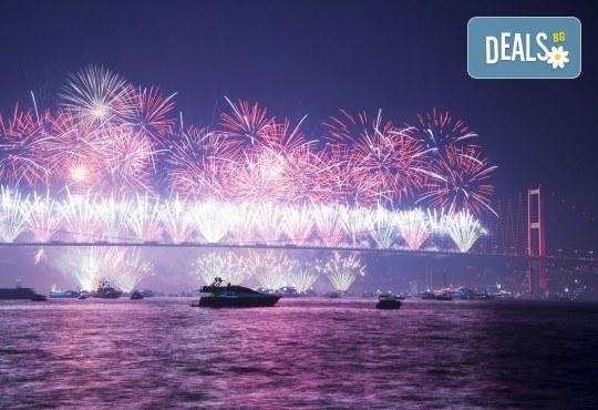 На супер цена до изчерпване на местата! Нова година в Истанбул - 3 нощувки със закуски в Yaztur Hotel 3*, транспорт, посещение на мол Forum - Снимка 1