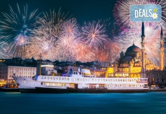 На супер цена до изчерпване на местата! Нова година в Истанбул - 3 нощувки със закуски в Yaztur Hotel 3*, транспорт, посещение на мол Forum - Снимка 2