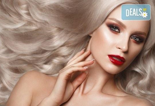 Мечтаете за гъста и плътна коса? Ботокс терапия при тънка и бързо омазняваща се коса + сешоар от фризьоро-козметичен салон Вили! - Снимка 3