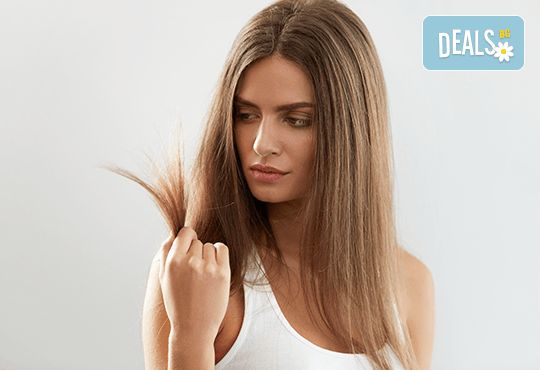 Мечтаете за гъста и плътна коса? Ботокс терапия при тънка и бързо омазняваща се коса + сешоар от фризьоро-козметичен салон Вили! - Снимка 1