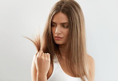 Мечтаете за гъста и плътна коса? Ботокс терапия при тънка и бързо омазняваща се коса + сешоар от фризьоро-козметичен салон Вили!
