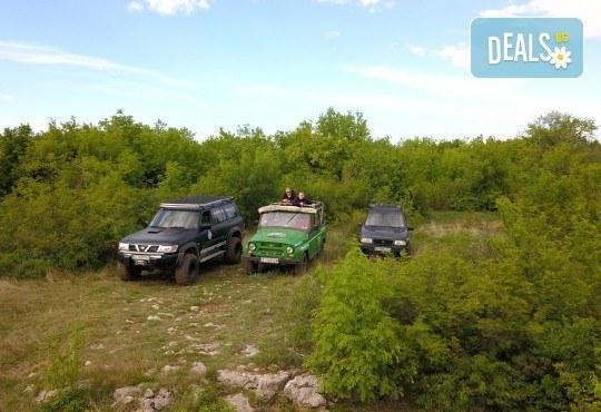 Офроуд разходка за до шест човека с джип в околностите на Велико Търново и село Арбанаси от HillView VT - Снимка 5