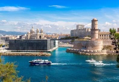 Романтика през ноември във Франция! 3 нощувки със закуски в хотел 3* в Марсилия, самолетен билет и летищни такси - Снимка