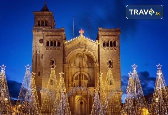 Коледен шопинг в Малта! 3 нощувки със закуски в Hotel Plaza 3*, самолетен билет и водач от ПТМ Интернешънъл! - Снимка 1