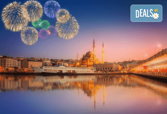 Нова година в Истанбул: 3 нощувки и закуски в Glorious 4*, транспорт