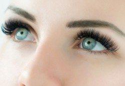 Удължаване и сгъстяване на мигли по метода косъм по косъм или 3D обемна техника и 20% отстъпка от поддръжка в Angels Beauty! - Снимка