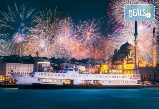 Посрещнете Нова година в Истанбул! 3 нощувки със закуски, транспорт, Новогодишна вечеря на яхта по Босфора! - Снимка 2