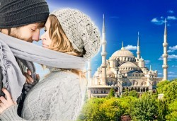 Романтика за Свети Валентин в Истанбул! 2 нощувки със закуски, транспорт и бонус: нощна автобусна обиколка Светлинна рапсодия! - Снимка