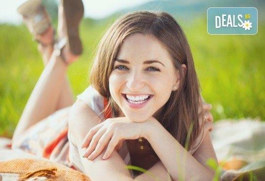 Домашно избелване на зъби и обстоен профилактичен преглед в Дентална клиника Персенк! - Снимка 1