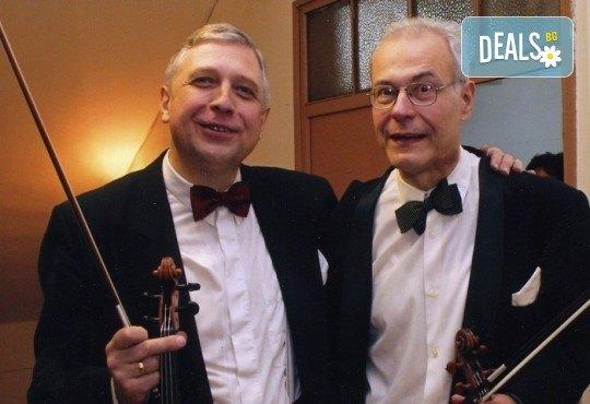 Концерт ОРГАНОВА ПАЛИТРА с участието на Велин Илиев и цигулково дуо Ангел Станков и Йосиф Радионов, на 13.11. от 19:00 ч. в Зала България, билет за един - Снимка 2