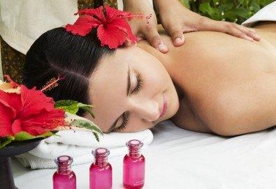 Божествен полъх от Хавай! Кахуана масаж на гръб или на цяло тяло с хавайска орхидея при физиотерапевт от Филипините в Senses Massage & Recreation! - Снимка