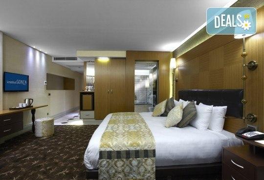 5-звездна Нова година в Hotel Gonen в Истанбул! 2 нощувки със закуски, празнична вечеря с неограничени напитки и DJ парти, транспорт и посещение на Одрин! - Снимка 3