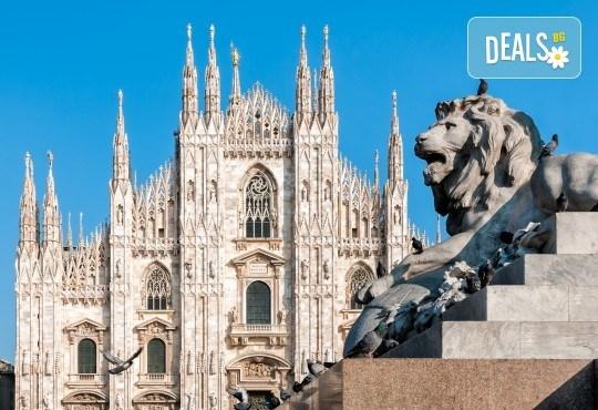 Екскурзия до Милано, Италия, с Дари Травел! Самолетен билет, 3 нощувки със закуски, туристичека обиколка, водач и възможност за 2 тура до Торино и езерaтa Комо и Лугано! - Снимка 1