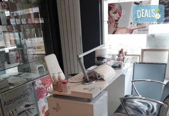 Изграждане с гел и маникюр с гел лак Kodi Professional + 2 декорации в център за красота Енигма! - Снимка 6