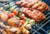 1 кг. скара микс: свинска вратна пържола, пилешка пържола, шишче, суджук и кюфтенца на скара в Ресторант 21 - Лозенец - thumb 2