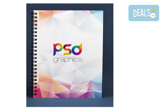 За Вашия бизнес! Изработка на фирмен тефтер с твърди корици и формат А5 от Хартиен свят - Снимка 1