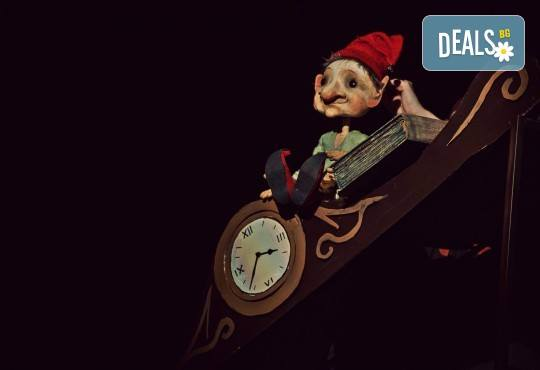 """Театър за двама! """"Каша за душата, или коледното джудже в бакалницата"""" по Х. К. Андерсен на 15-ти декември (неделя), 11 часа в Младежки театър Николай Бинев - Снимка 1"""