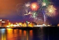 Лукс и релакс за Нова година в Чанаккале! 3 нощувки с 3 закуски, 2 стандартни и 1 празнична вечеря с програма в Hotel Kolin 5*, ползване на басейн, сауна и фитнес - Снимка