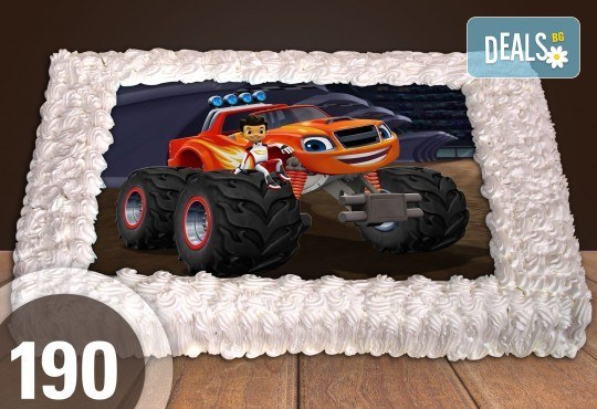 Експресна торта от днес за днес! Голяма детска торта 20, 25 или 30 парчета със снимка на любим герой от Сладкарница Джорджо Джани! - Снимка 74
