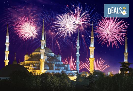 Нова година 2020 в Истанбул: хотел 5*, 3 нощувки със закуски, 2 вечери, Новогодишна вечеря
