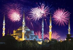 Посрещнете Нова година в Истанбул, Турция, в хотел Elite Europe World Luxury 5*: 3 нощувки със закуски, 2 стандартни вечери, Новогодишна вечеря, транспорт по желание - Снимка
