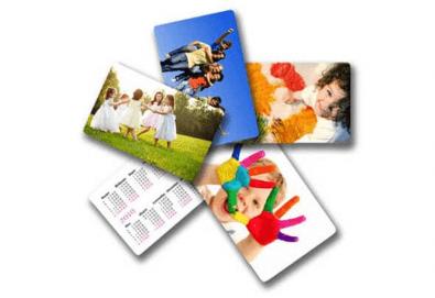 Изработка на 100 броя джобни календарчета с Ваше лого и кординати от Хартиен свят - Снимка