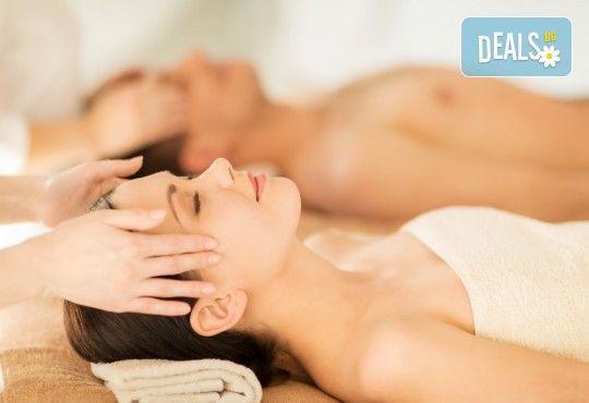 Изтокът среща Запада! Двоен енергиен масаж за двама при физиотерапевт от Филипините и СПА терапевт от Европа с ароматни екзотични масла в Senses Massage & Recreation! - Снимка 2