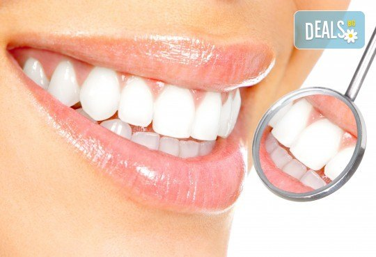 Почистване на зъбен камък с ултразвук, полиране и подарък от д-р Диляна Кънчева