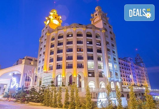 Нова година в JAdore Deluxe Hotel & Spa 5*, Сиде: 4 нощувки на база All Inclusive