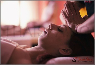 Масаж при главоболие с жасминово масло, масло от папая и лимонова трева, в Thai SPA Софарма Бизнес Тауърс и България МОЛ! - Снимка