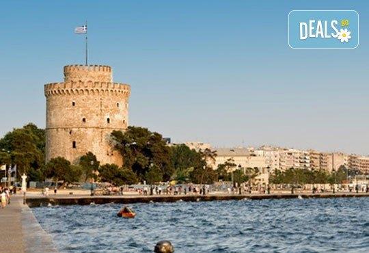 На 30.11. до Солун, Гърция: транспорт, водач и панорамна обиколка