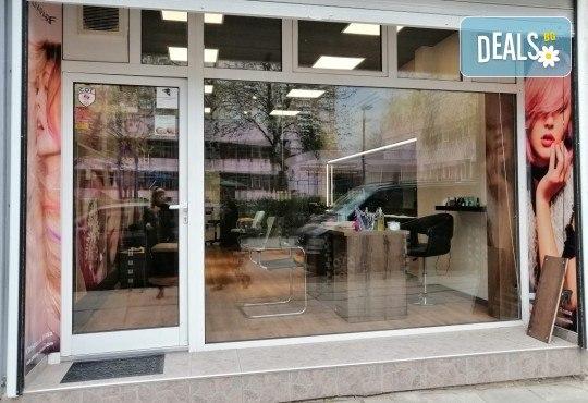 Нов цвят! Боядисване в стил омбре, терапия с маска и прическа със сешоар в Студио за красота BEAUTY STAR до Mall of Sofia! - Снимка 5