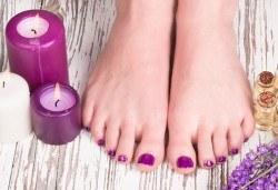 Класически педикюр с гел лак ORLY или Cuccio + масаж на ходилата и ДВЕ рисувани декорации в Студио за красота BEAUTY STAR до Mall of Sofia! - Снимка