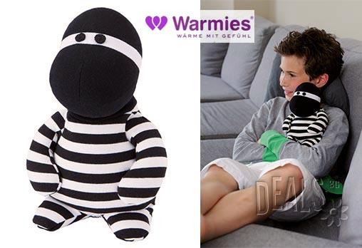 Плюшена нагряваща се и охлаждаща се играчка Бандит от Warmies - Снимка