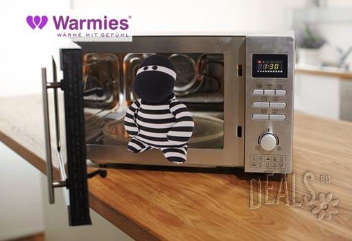 Плюшена нагряваща се и охлаждаща се играчка Бандит от Warmies - Снимка 2