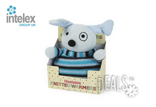 Нагряващо се Плетено Кутре Knitted Warmer Puppy от Intelex - Снимка 3