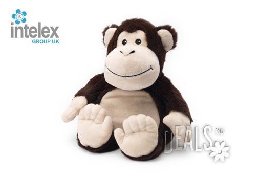 Плюшена нагряваща се Маймуна Cozy Plush Monkey от Intelex