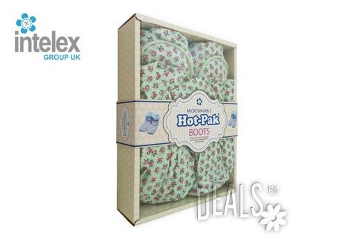 Плюшени нагряващи се Ботуши зелени (36-40) Hot Pack Boots Green от Intelex - Снимка 2