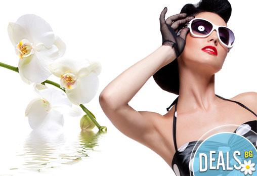 Вземете 7 процедури IPL + RF фотоепилация за жени на подмишници в Салон Beauty Angel!
