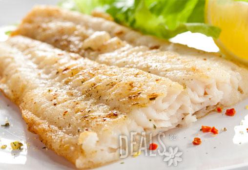 Отново рибно меню в BALITO! Две порции крехка бяла риба филе + пресни пържени картофки и апетитен сос тартар, поднесени по италиански само срещу 6.55лв!