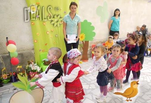 Полудневна ясла/ градина за най-малките в новата база на ЧДГ Славейче в центъра на София за 150 лв!