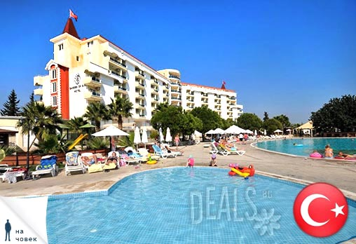 Ранни записвания 2014 за почивка в ТОП курорта на Турция - Дидим! 7 нощувки на база All Inclusive в Хотел Garden of Sun 5* + автобусен транспорт, медицинска застраховка и екскурзовод! Цени от 392лв на човек, с предплащане!